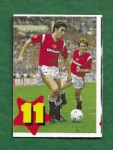Manchester United Norman Whiteside Northern Ireland 11